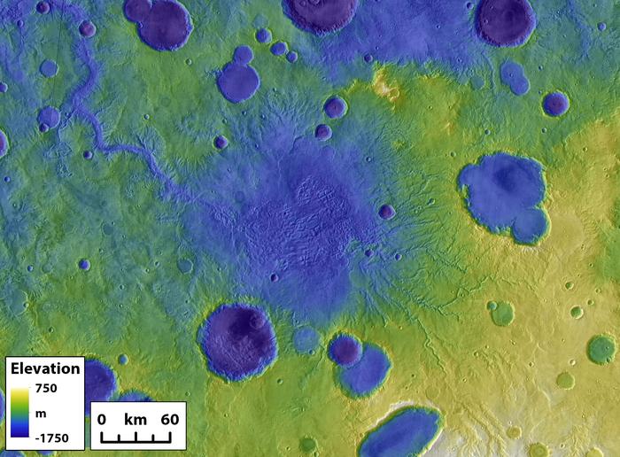 Massive Überschwemmungen auf dem Mars